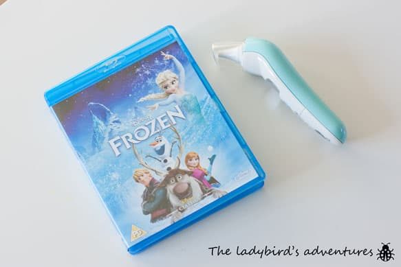Poorly ladybird, frozen and bathroom plans #littleloves