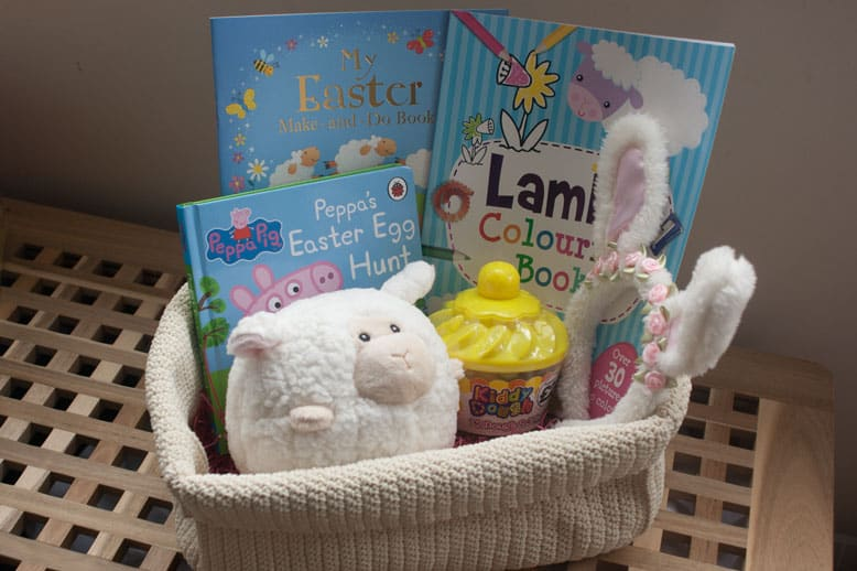 Easter basket for a 3 year old