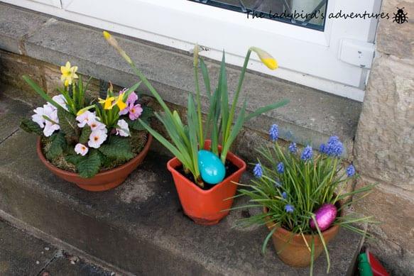 Spring, Easter egg hunts and a party #littleloves