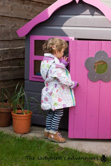 What the ladybird wore – Trespass girls waterproof jacket review