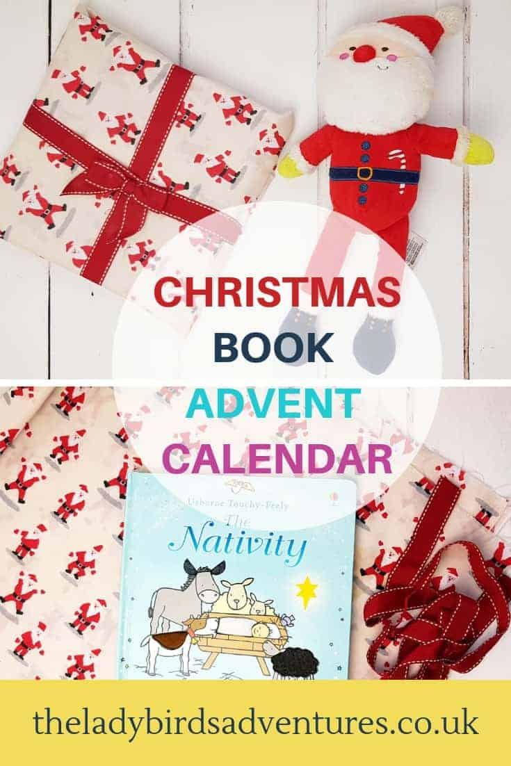 book advent calendar pin