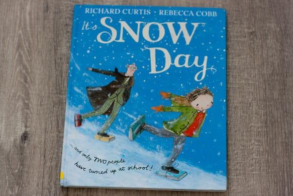 it's snow day, Richard Curtis, Rebecca Cobb