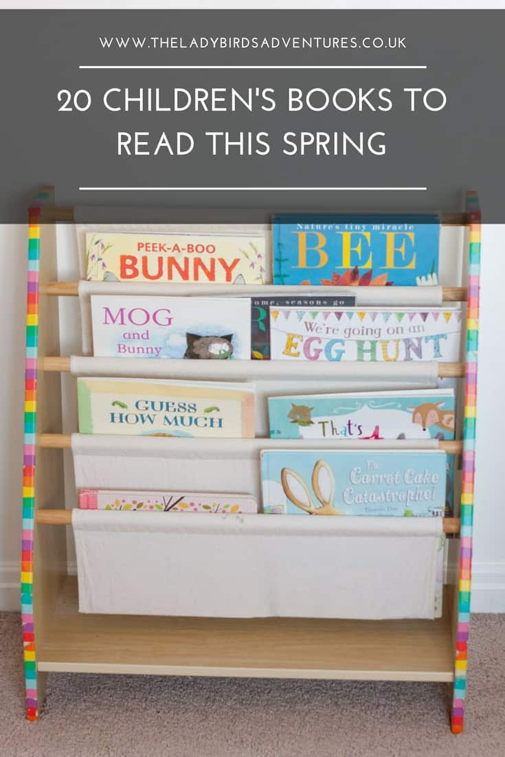 20 Children's books to read this spring
