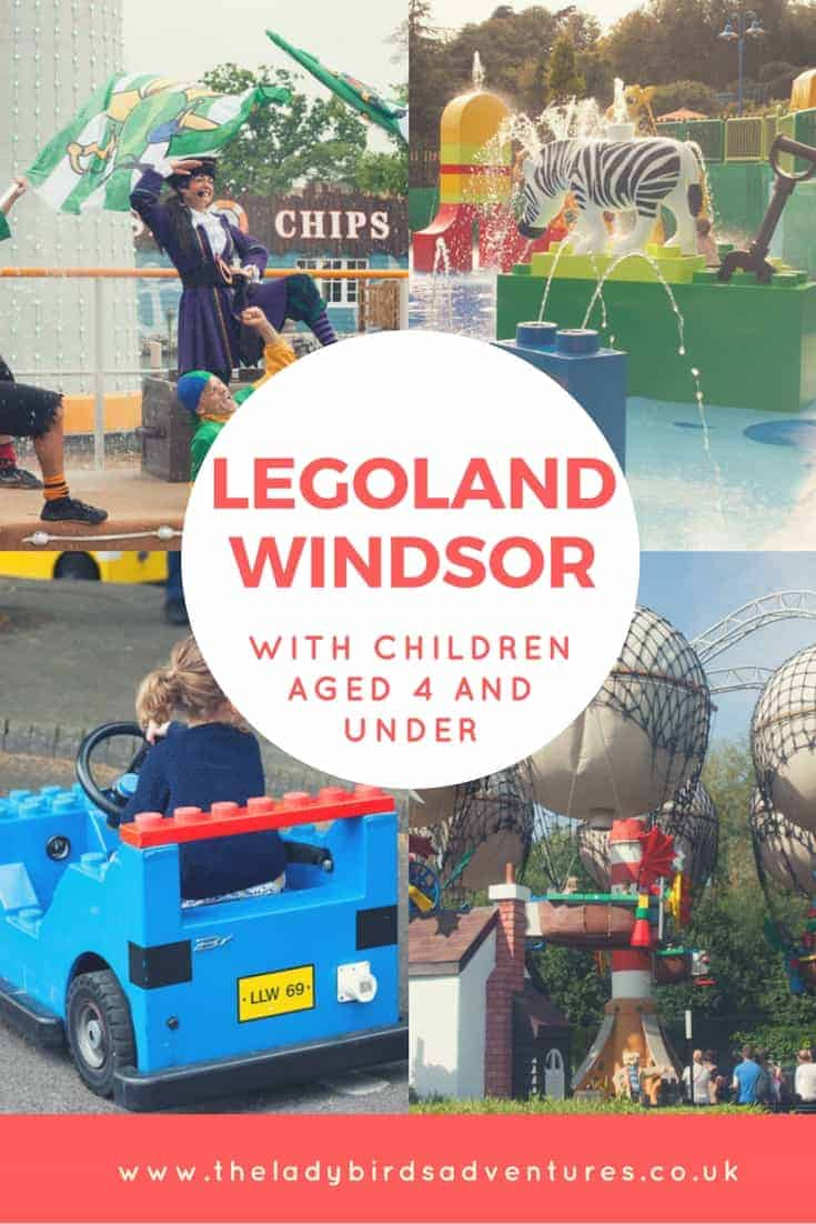 Legoland Windsor with under 4's