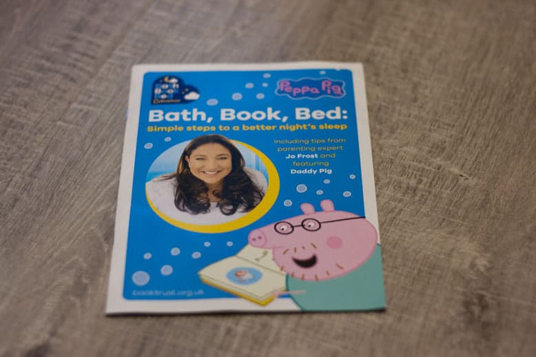 Bath, Book, Bed. The importance of the bedtime routine.