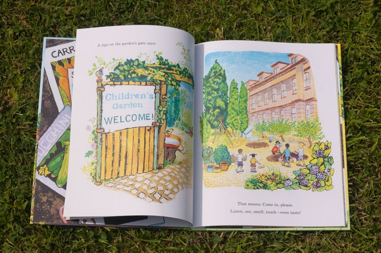 The Children's garden book review