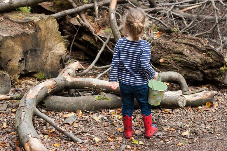 Leaf painting, woodland walks and finding time to read #littleloves