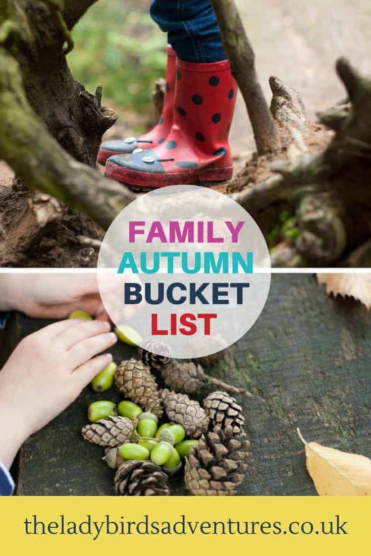 family autumn bucket list