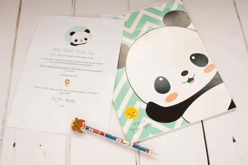 post for panda