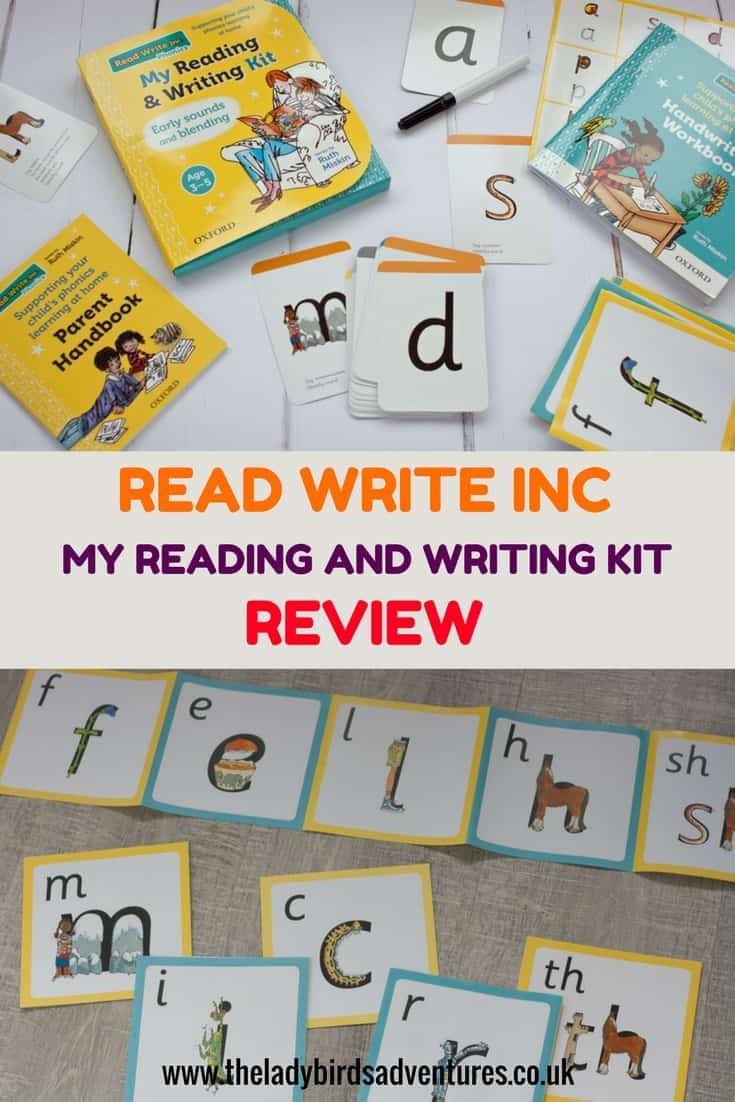 Read Write Inc. My reading and writing kit. Early sounds and blending review. See how this kit can help you support your 3-5 year old to learn phonics.