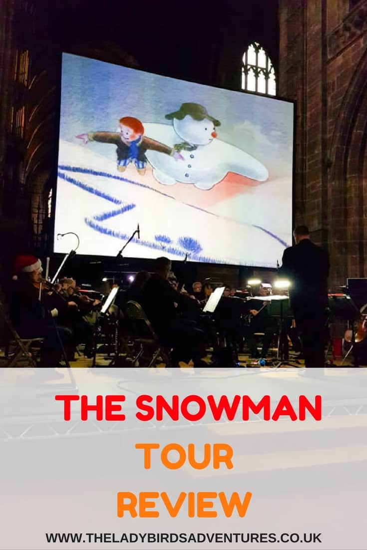 The Snowman Tour review Pin