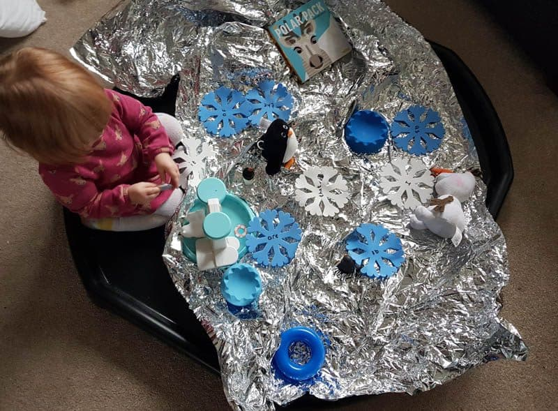 Winter Sensory Play