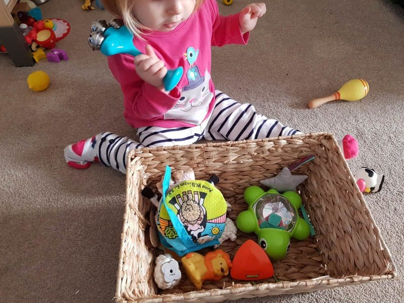 Nursery Rhyme Treasure Basket