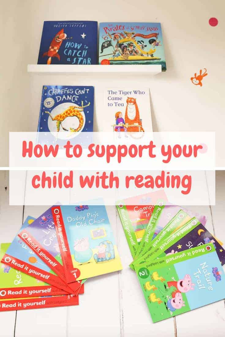 How to support your child with reading