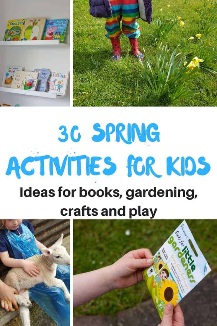 spring acivities for kids