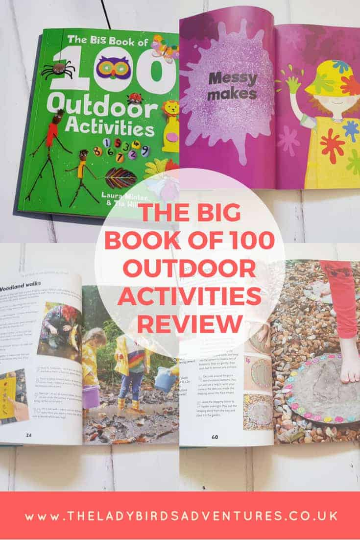 The big book of 100 outdoor activities review