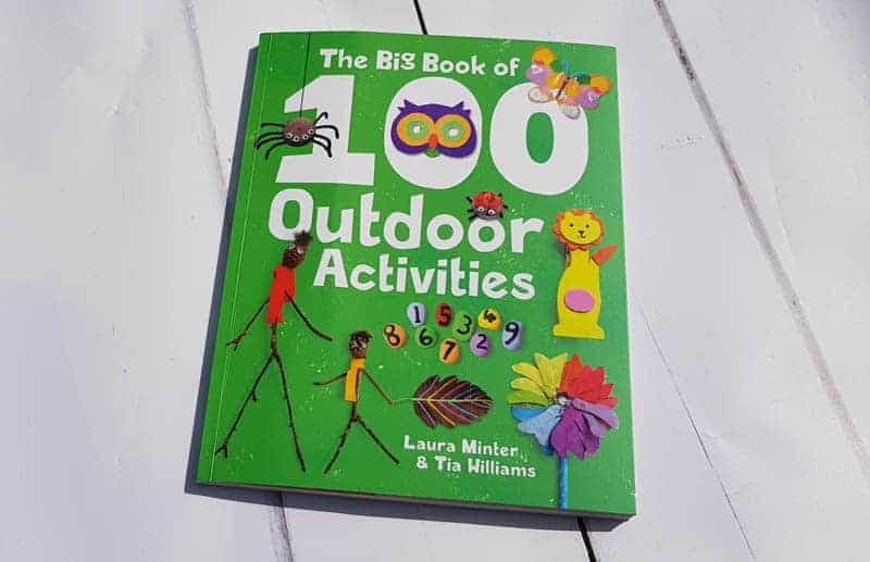 The big book of 100 outdoor activities review & giveaway