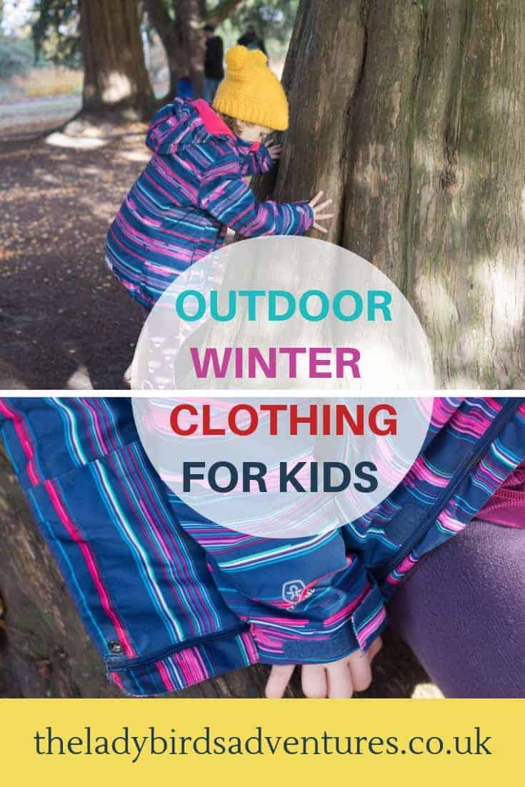 Outdoor winter kids clothing