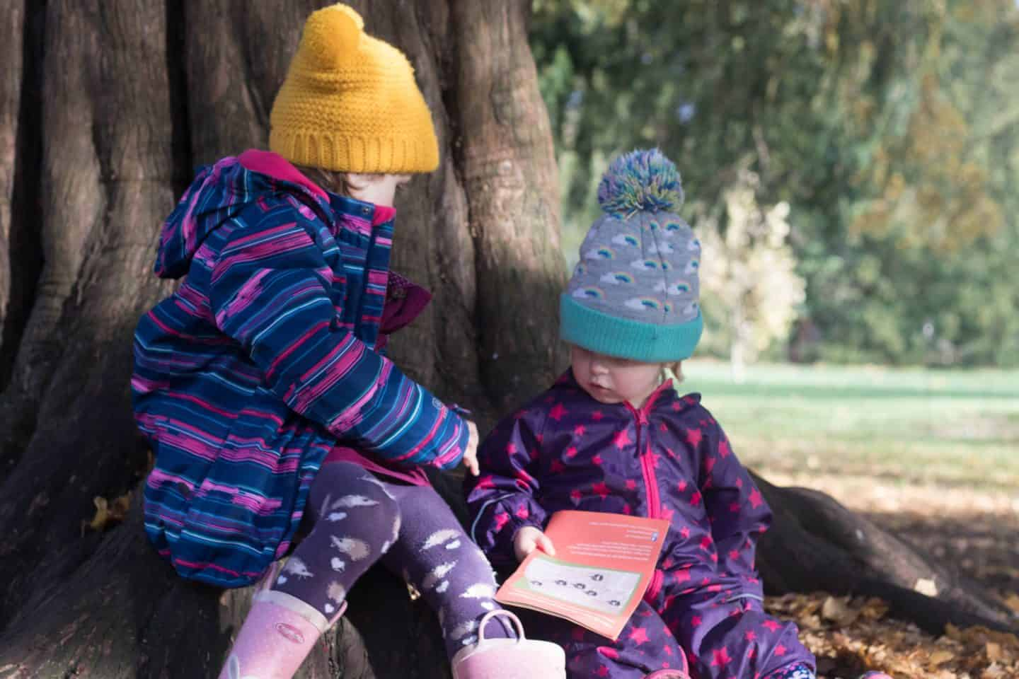 Winter outdoor clothing for kids with simply hike