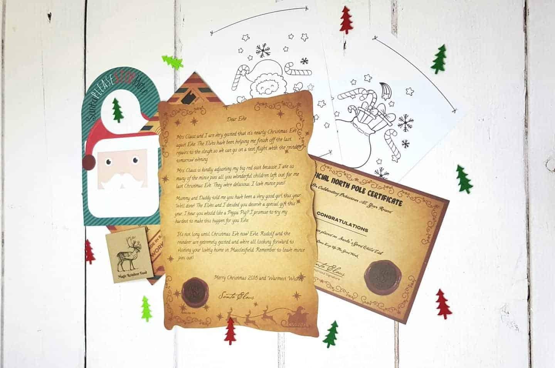 Magic Santa letter review